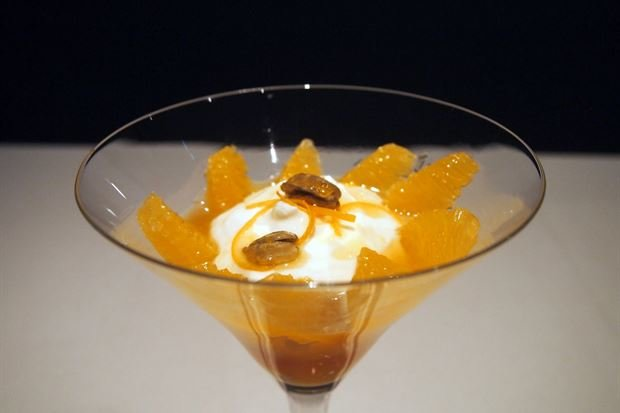 Brandy/Orange Custard