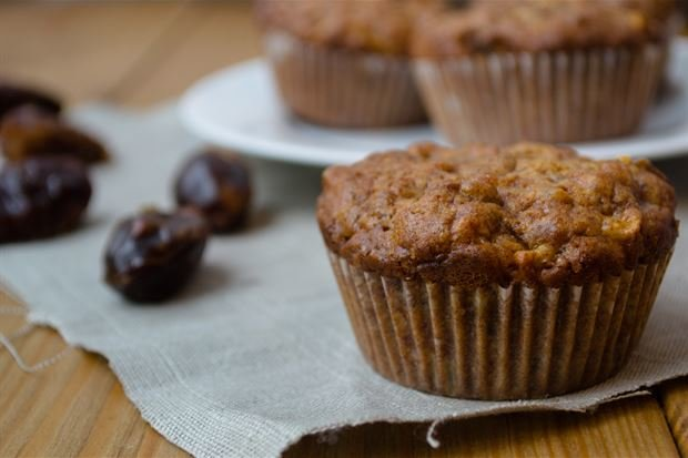 Date & Apple Brown Sugar Muffins (Gluten Free)