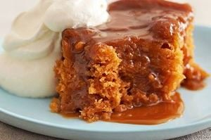 Sticky Date Puddings with Butterscotch Sauce (Pressure Cooker)