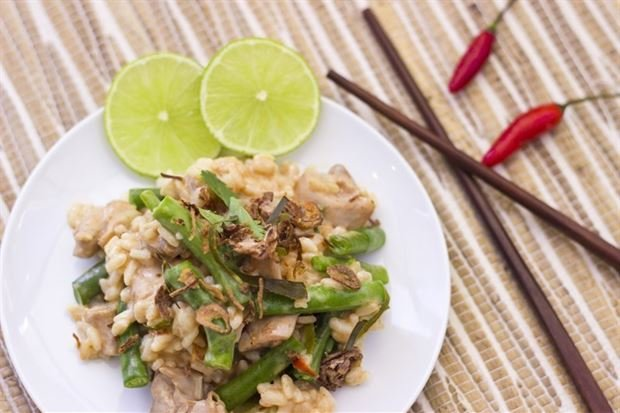 Thai Massaman Chicken Risotto
