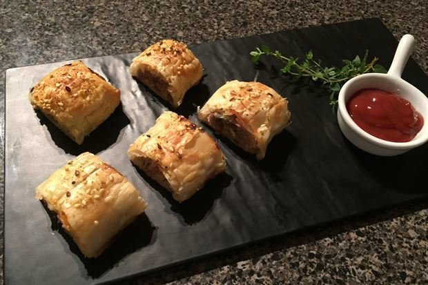 Turkey & Cranberry Sausage Rolls