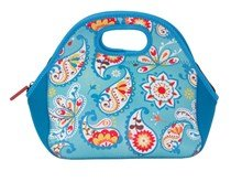Stylish Neoprene Lunch Bag - Ocean Splash