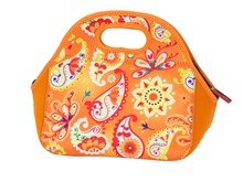 Stylish Neoprene Lunch Bag - Citrus Burst