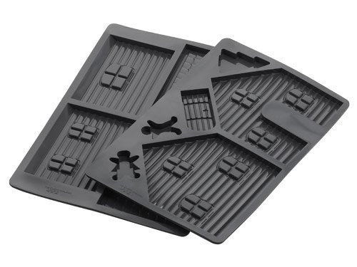 Silicone Gingerbread House Mould