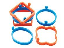 Silicone Egg Rings (Set of 6)