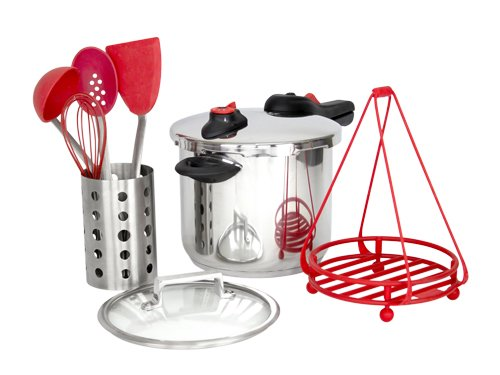 Pressure Cooker Kit (Red)