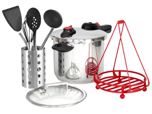Pressure Cooker Kit (Black)
