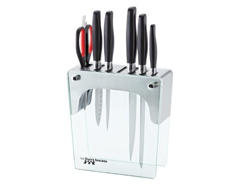 Stainless Steel Knife Block Set (excl. Fusion Knife)